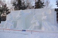 Impresionantes Esculturas De Invierno | Arte Helsinki, Siberia, Harbin, Snow, Outdoor, Snow Sculptures, New Zealand, Snowflakes, Art Museum