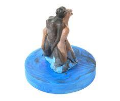 HERMAFRODİT - NİLGÜN SABAR SERAMİK, AHŞAP Ø 17 cm, 20 cm, 2014 #art #design #gallery #decoration #homedecor