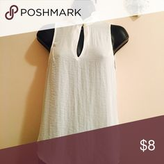 White classic shirt Never worn:) H&M Tops Blouses
