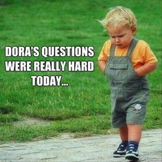 hahaha this is definitely Julian after a tedious episode of Dora the Explorer!