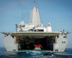 "USS San Diego LPD-22 Pacific Ocean February 20, 2014 - 8"" x 10"" Photograph"