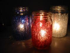 mason jar glitter pinterest | Glitter Jars