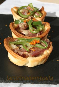 Ketogenic Recipes, Diet Recipes, Vegan Recipes, Snack Recipes, Cooking Recipes, Xmas Food, Mini Foods, Empanadas, Keto Dinner