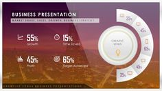 How To Create Market Share, Sales, Data, Stats Presentation Infographic ...