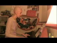 Adele cover - Turning Tables  This girl was recently diagnoses with Leukemia. diagnosed with Leukemia. She is 20. It's been very difficult, but she's getting through it through music! She's trying to prove that while cancer can take away her hair, her weight, her social life, and her education, she can still do what she loves the most! She's so inspirational!