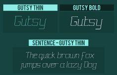 Gutsy - Free Font http://www.webdesignerhub.com/free-font-friday-2/