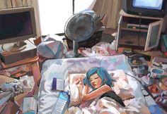 untidy by ~uturo128 on deviantART