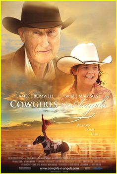 Cowgirls n angels  Trick rider, horse, love! Cute family movie - age 7 or so.