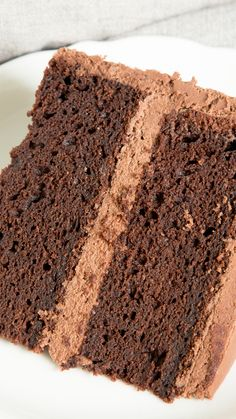 This easy gluten free chocolate cake is rich, dense and fudgy, and it's all made in just one bowl. Say hello to your new favorite chocolate cake recipe!