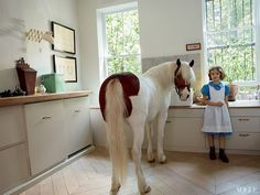 Id like a pony in my kitchen please