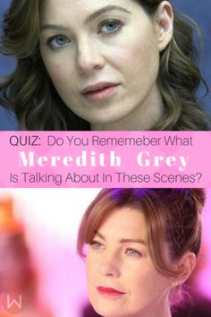 How well do you know these great Grey's Quotes by Meredith Grey? Test your knowledge with this Grey's Anatomy trivia quiz! Ellen Pompeo, Shonda Rhimes, Greys Anatomy, Grey's Anatomy 2017, Grey's New Season, Grey's Anatomy Quiz, Grey's Trivia, Grey's Quotes, Grey's Anatomy Quotes.