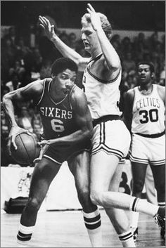 The teams that made me a b-ball fan (RM)The Celtics have played five Game 7s vs. the 76ers, but none since 1982. The Celtics lead 3-2 in Game 7s vs. Philly. May 23, 1982: 76ers 120, Celtics 106 in Boston in East finals May 1, 1977: 76ers 83, Celtics 77 in Philadelphia in East semifinals April 19, 1968: Celtics 100, 76ers 96 in Philadelphia in division finals April 15, 1965: Celtics 110, 76ers 109 in Boston in division finals April 5, 1962: Celtics 109, 76ers 107 in Boston in division finals