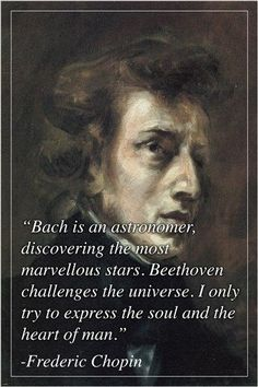 """FREDERIC CHOPIN photo quote poster INSPIRATIONAL """"try to express"""" NEW Brand New. Will ship in a tube. - Multiple item purchases are combined the next day and get a discount for dom Music Quotes Life, Piano Quotes, Music Memes, Music Is Life, Mozart Quotes, Classical Music Quotes, Classical Music Composers, Sound Of Music, New Music"""