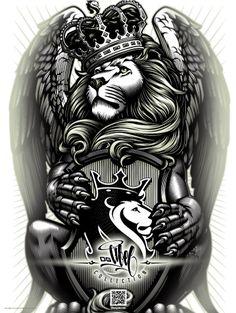 Resultado de imagem para og abel lion | leao | Pinterest | Lion