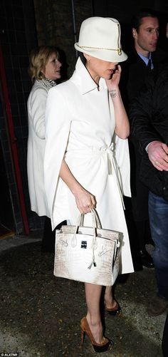 Victoria Beckham's diamond-encrusted Himalaya was a gift from husband David and one of the first to be created in Since then, she's become a collector, with 100 Birkins worth around million Hermes Bags, Hermes Handbags, Hermes Birkin, Birkin Bags, Designer Handbags, Victoria Beckham, Lily Collins, Luxury Bags, Kanye West