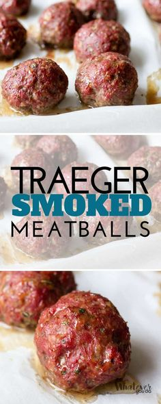 These Traeger Smoked Italian Meatballs are smoked for about a half hour, and then are finished off at 325 until they are done. Packed with Italian flavor, these are great on their own as appetizers, in a meatball sub, or in some smoked meatball marinara. Traeger Smoked Italian Meatballs Meatballs are one of those things...Read More »