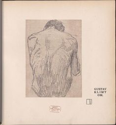 Gustav Klimt drawing for Ver Sacrum (1901)