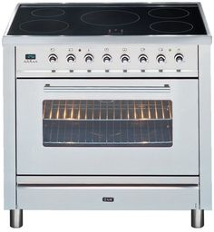 $3599 Ilve - 90cm Electric Freestanding Oven, Induction Cooktop, Stainless Steel | Electric Uprights | Uprights | Ovens, Cooktops & Rangehoods - Buy Factory 2nd and New Appliances and White Goods Online at 2nds World
