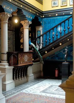 Leighton House Museum, Holland Park, London. The former home of the painter Frederic, Lord Leighton, it has been open to the public since 1929.
