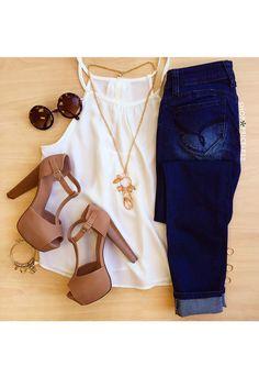 Berkley Top - White