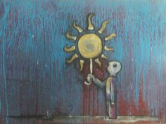 Acrylics and Charcoal on Canvas, * My Works, Acrylics, Door Handles, Charcoal, Canvas, Digital, Painting, Home Decor, Art