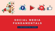 It is important to start representing your business and engage your audience. You will leave our course with the basics social media experience on how to represent your brand, message and voice. Social Media Marketing Courses, Social Marketing, Online Marketing, Top Social Media, Social Media Training, Business Goals, Digital Media, Learning, Training Courses