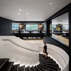 """The overhaul was completed by a consortium that included architects Sid Lee and Architecture49, alongside general contractor Pomerleau.    """"We designed the renewed hotel experience with a very holistic vision,"""" said Jean Pelland, senior partner at Sid Lee. """"The hotel literally opens onto the city to welcome local people."""""""