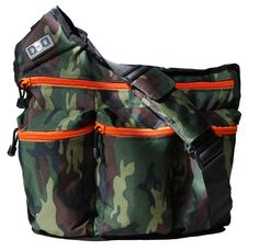 Free Shipping! Diaper Dude Diaper Bag, Camouflage