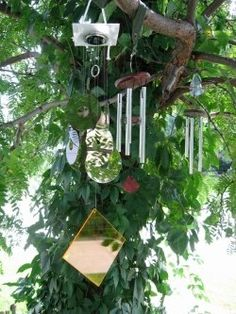 Build a Wind Chime, it's fast and easy! Wind chimes add a nice element to any home. I have mostly built my chimes from copper pipes or metal conduit...