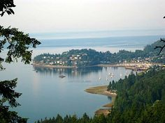 Gibsons, BC  where my cousin lives.  b-e-a-utiful!