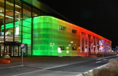 One of our first facade lightings