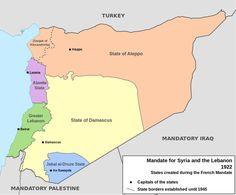 Gli Arcani Supremi (Vox clamantis in deserto - Gothian): Composizione etnica e religiosa della Siria, dell'Iraq e del Levante
