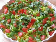 This is the recipe for my nacho dip. A winner at every party and backyward bbq, it is always gone fast! Everyone always loves dipping in to see how many different toppings they can cram onto one to… Dip Recipes, Mexican Food Recipes, Great Recipes, Snack Recipes, Cooking Recipes, Favorite Recipes, Ethnic Recipes, Appetizer Dips