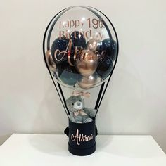 Balloon It - Balloon Gifts, Surprise Boxes & Decor for all occassions – Balloonit Balloon Box, Balloon Gift, Balloon Flowers, Balloon Bouquet, Air Balloon, Birthday Balloon Decorations, Diy Party Decorations, Birthday Balloons, Balloon Arrangements