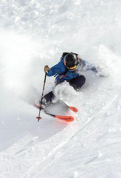 Clinic: Got Vert? Gain the confidence you need to slay the steeps this season. Ski Ski, Ski And Snowboard, Snowboarding, Ski Extreme, Ski Mountain, Mountain Vacations, Skate Surf, Snow Skiing, Winter Wonder