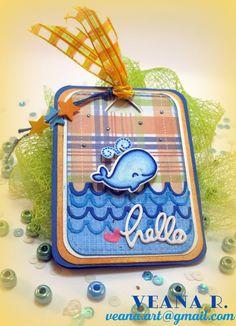 V morju plava kit  /  Blue Whale in the sea