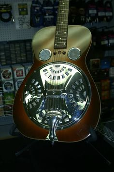 1970's Dobro Model 60 - We picked this one up at an auction and found a home for it in Australia.
