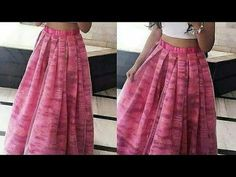 बहुत ही आसानी से लेहेंगा बनाये,, Cutting and stitching of Box pleated Lehenga with can can, - YouTube Fashion Show Dresses, Frock Fashion, Indian Fashion Dresses, Hand Work Blouse Design, Stylish Blouse Design, Fancy Blouse Designs, Best Lehenga Designs, Morden Dress, Salwar Pattern