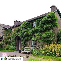 #Repost @igerscumbria thank you for featuring my photo of Beatrix Potter's Hill Top Farm   . . .  Hill Top House by @rhi_create  Hill Top is a 17th-century house in Near Sawrey near Hawkshead. It is an example of Lakeland vernacular architecture with random stone walls and slate roof. The house was once the home of children's author and illustrator Beatrix Potter who left it to The National Trust. It is a Grade II listed building. It is open to the public and the house is shown as Beatrix…