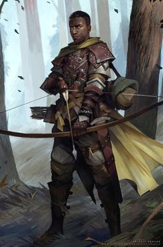 Men of Color In Fantasy Art