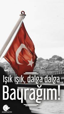 Türk Bayrağı Mobil Duvar Kağıdı Wallpaper