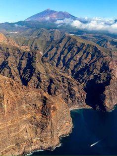 Barranco Seco, Acantilado de Los Gigantes, Tenerife