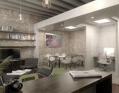 Office design for a law firm located in Caracas, Venezuela Behance, Mirror, Gallery, Check, Table, Furniture, Design, Home Decor, Caracas