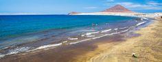 Playa de El Médano - Granadilla - Tenerife Montana, El Medano, Destinations, Canario, Canary Islands, To Go, Ocean, Water, Beaches