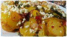 Te invito a mi cocina: Patatas a lo pobre http://sarividarural.blogspot.com.es/2017/02/patatas-lo-pobre.html