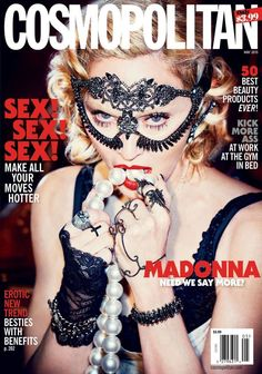 Madonna on the cover of Cosmopolitan May 2015
