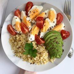 Healthy Meal Prep, Healthy Snacks, Healthy Eating, Healthy Recipes, Good Food, Yummy Food, Food Goals, Aesthetic Food, Food Inspiration