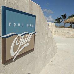 Installation days at the Royalton Bávaro Resort & Spa, Dominican Republic. #signage #hospitalitydesign #hotel #wayfinding #signs