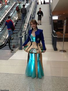 LightupTardress. One of the most amazing designs I've seen for Dr. Who cosplay