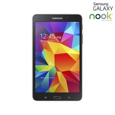 "Samsung Galaxy Tab 4 NOOK Google Android 4.4 Quad-Core 1.2GHz 8GB 7"" Dual-Camera Tablet PC - Assorted Colors"